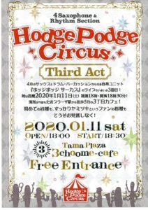 Hodge Podge Circus third act