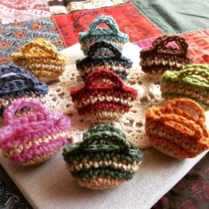 たまプラーザで編み物カフェ